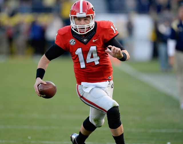 Georgia QB Hutson Mason has big shoes to fill with the departure of Aaron Murray.