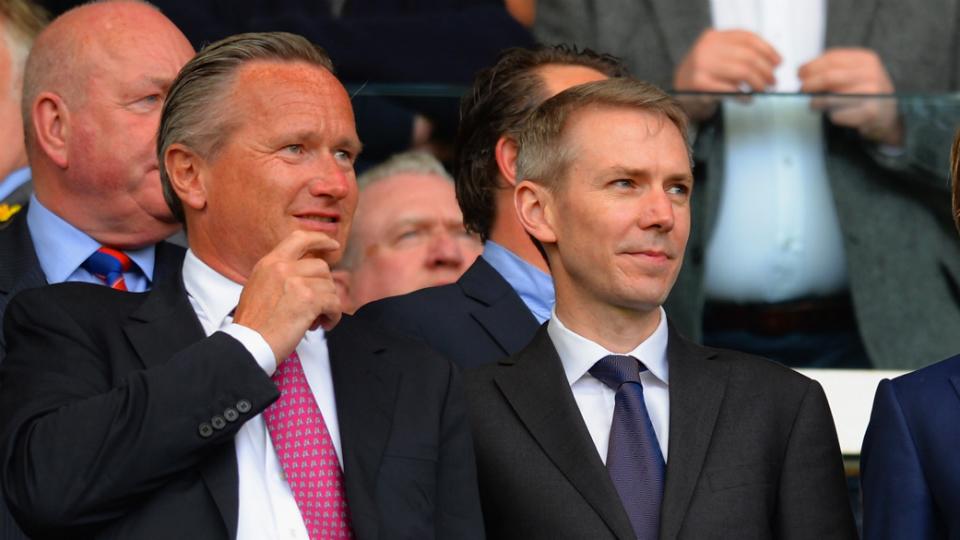 Crystal Palace co-chairman Steve Parish and sporting director Iain Moody