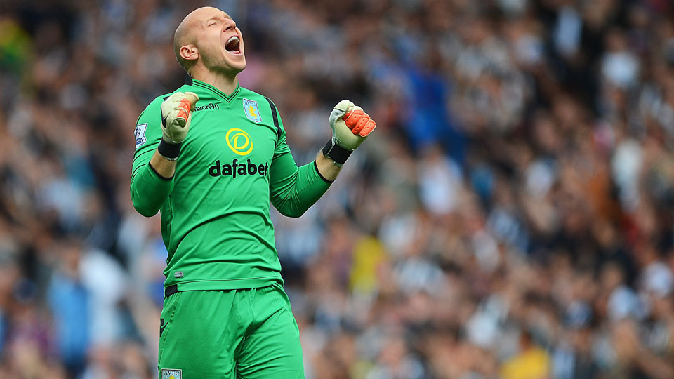Brad Guzan earned his second straight shutout to start the season as Aston Villa fought to a dull scoreless draw with Newcastle on Saturday.