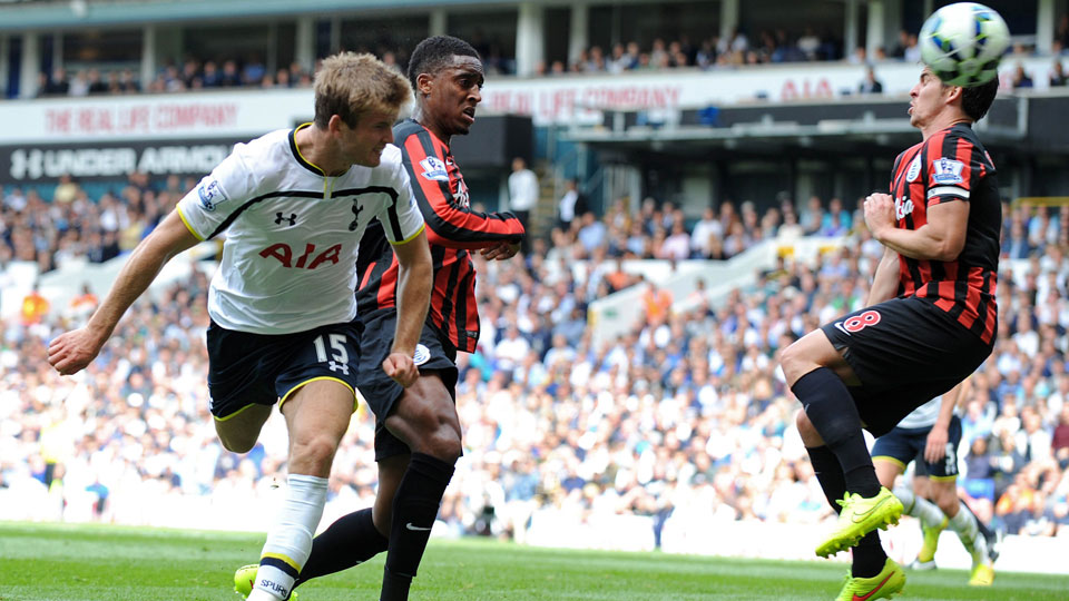 Eric Dier scored his second EPL goal in as many games in Tottenham's 4-0 rout of Queen's Park Rangers at White Hart Lane.