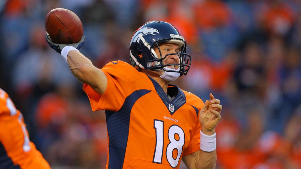 Broncos O Responds To Slow Start Vs Texans Peyton Responds To Hit On Welker