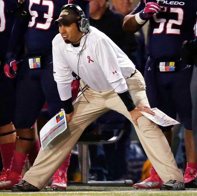 Toledo coach Matt Campbell