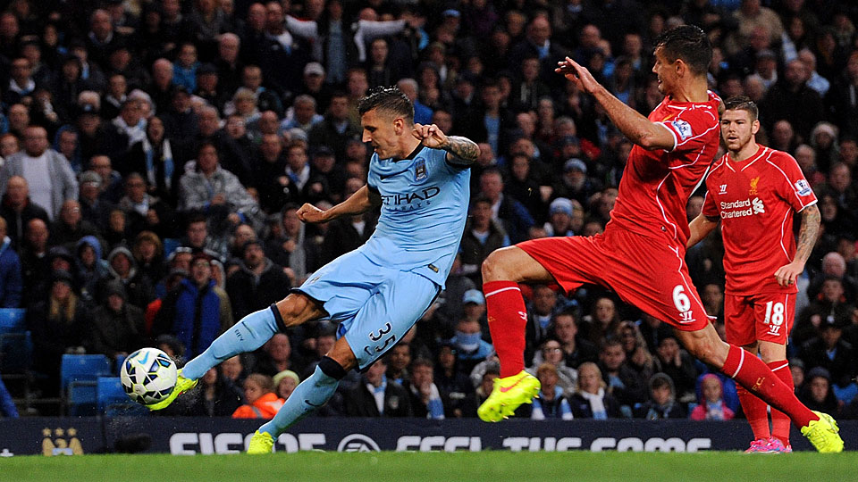 Stefan Jovetic has enjoyed a good start to the EPL season, including two goals against Liverpool in Saturday's 3-1 win.