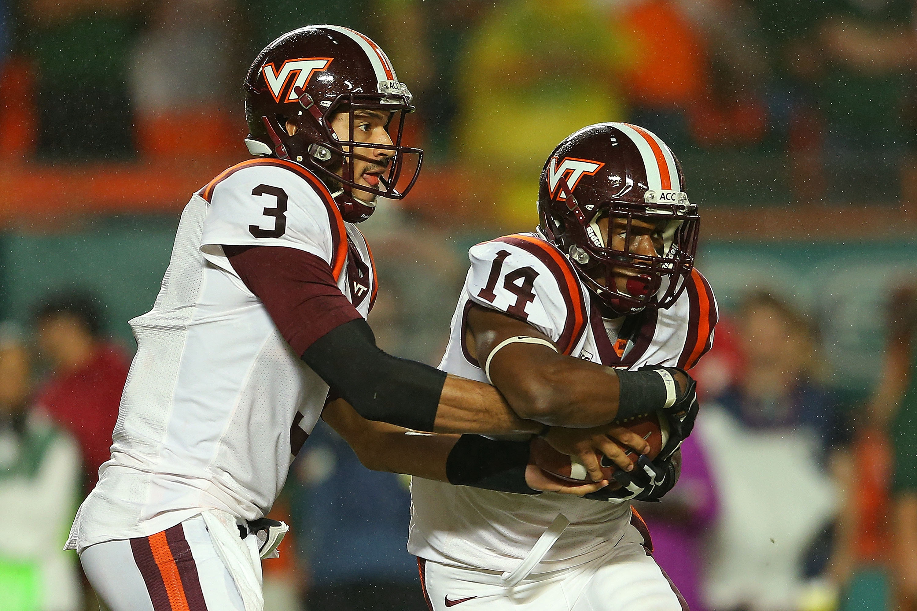 Virginia Tech running back Trey Edmunds will need to shoulder the load with quarterback Logan Thomas gone.