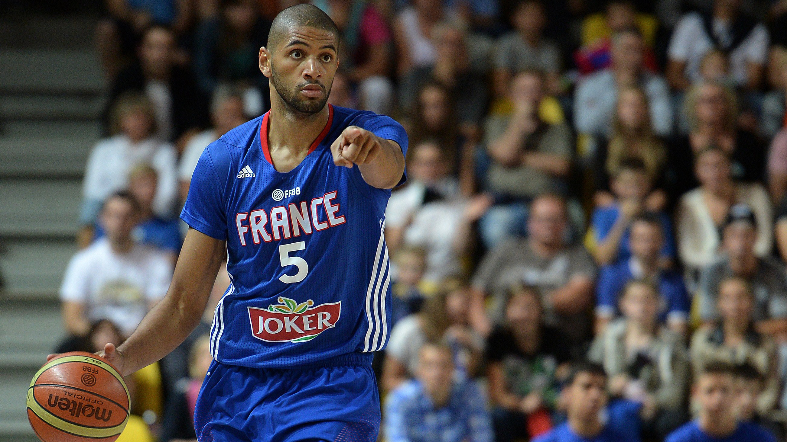 The Trail Blazers' Nicolas Batum is one of 50 active NBA players in the world cup.