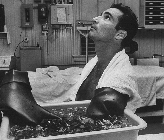 Koufax, shown here after facing the Mets on Sept. 6, 1966, retired due to traumatic arthritis in his left arm.