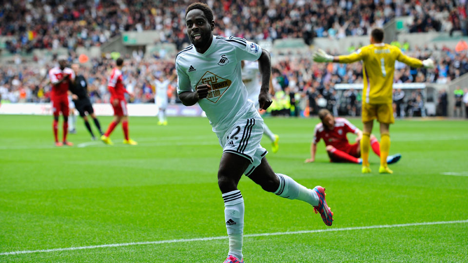 Nathan Dyer scored the last of Swansea's goals in a 3-0 win over West Bromwich Albion.