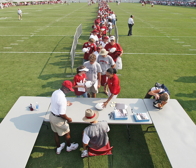 In The Nick Of Time Alabamas Football Faithful Welcome Their