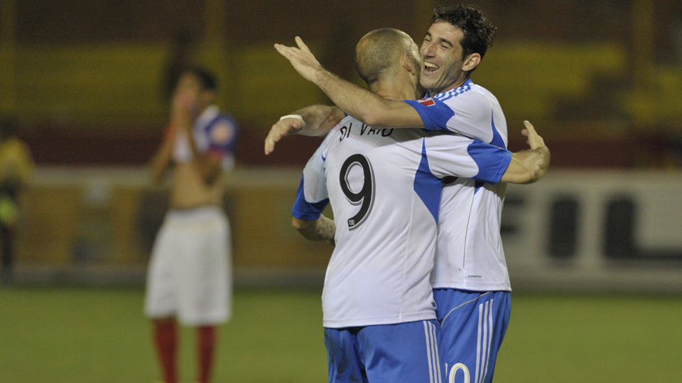 Ignacio Piatti, right, has provided a much-needed spark for last-place Montreal since his arrival in MLS.