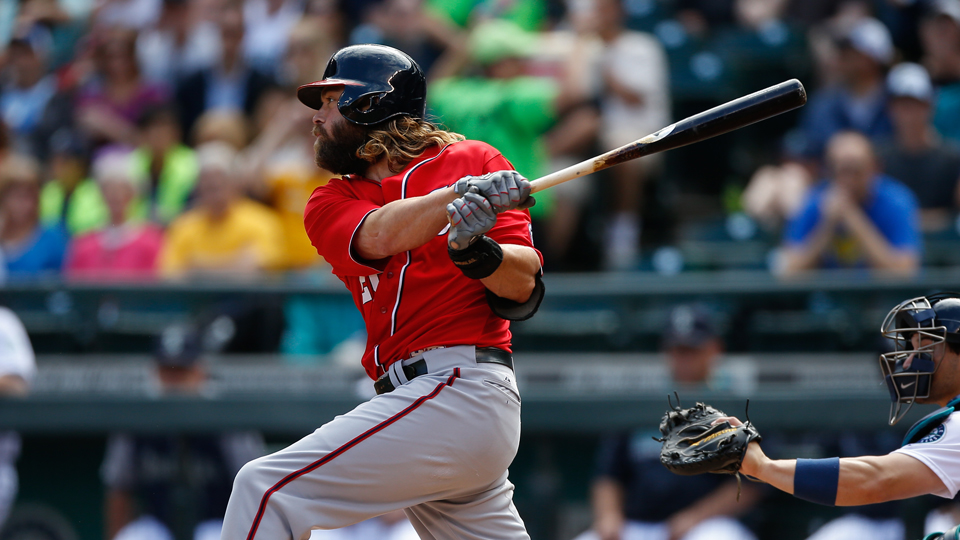 Jayson Werth has been swinging a hot bat for the Washington Nationals and has a solid matchup on Monday.