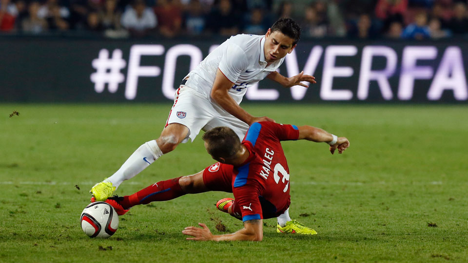Alejandro Bedoya scored the only goal in the United States' 1-0 win over the Czech republic in Prague on Wednesday.