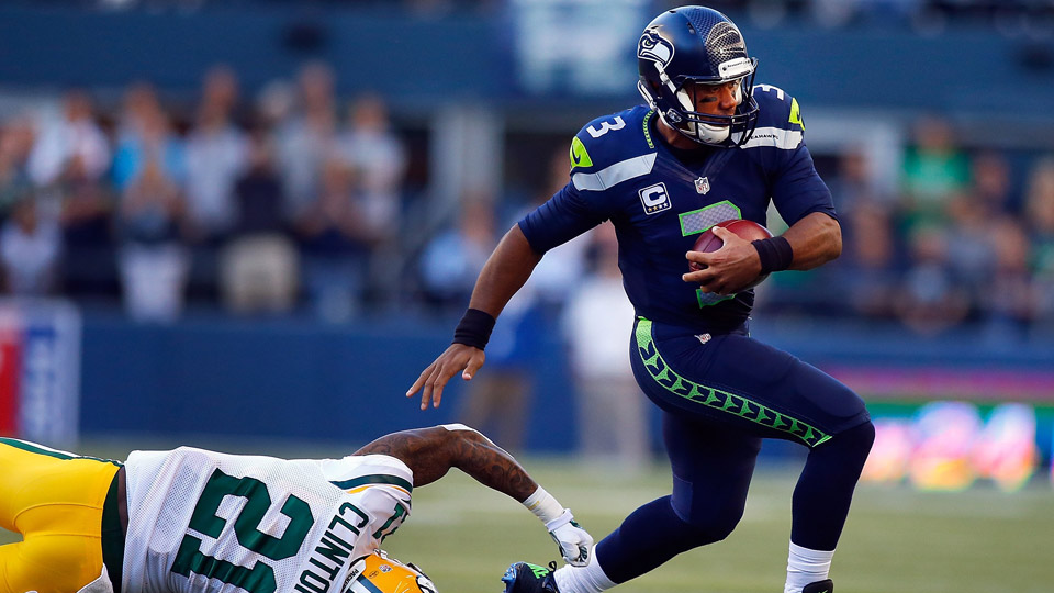 Russell Wilson Seahawks Packers three thoughts