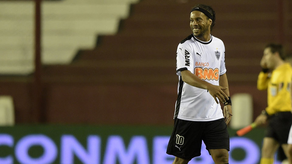 Ronaldinho won the Copa Libertadores with Atletico Mineiro in 2013, but will continue his career in Mexico with Queretaro.