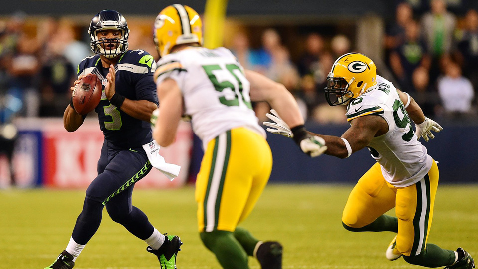 Seattle Seahawks offense still evolving around Percy Harvin, Russell Wilson