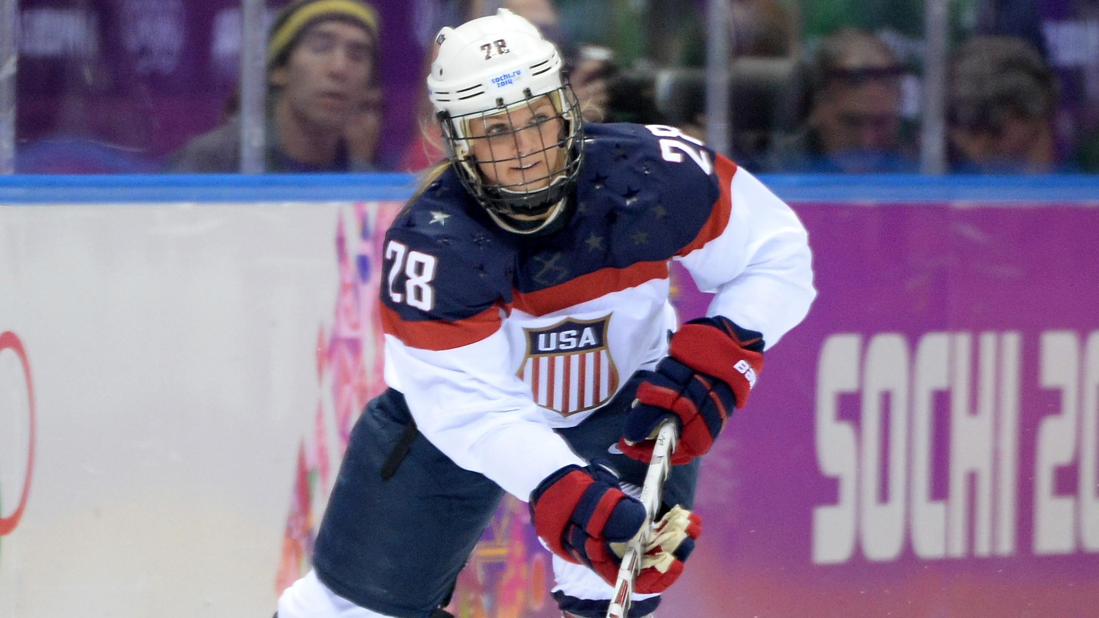 Amanda Kessel, sister of Toronto Maple Leafs F Phil Kessel, will not ...