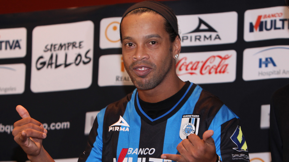 Ronaldinho is set to make his Queretaro debut after moving to the Liga MX club.