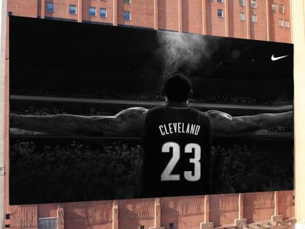 The proposed LeBron mural