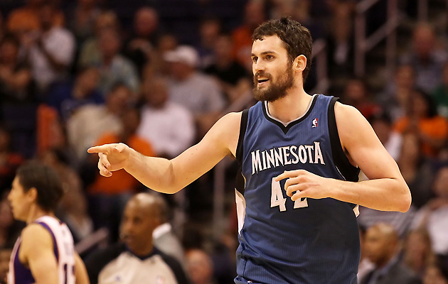 Kevin Love's trade to the Cavaliers didn't influence his No. 7 ranking.