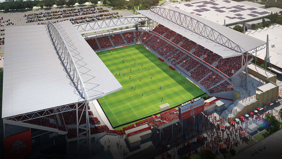 Toronto FC's BMO Field is set to undergo a major renovation to modernize the facility, make it larger and add a roof.
