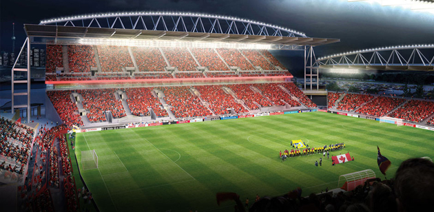 Toronto Fc S Bmo Field To Add 8 400 More Seats Roof In