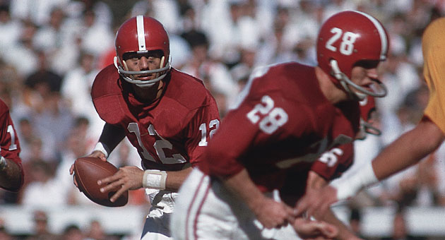 Joe Namath at Alabama