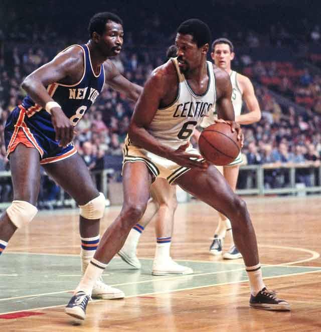Boston Celtics star Bill Russell