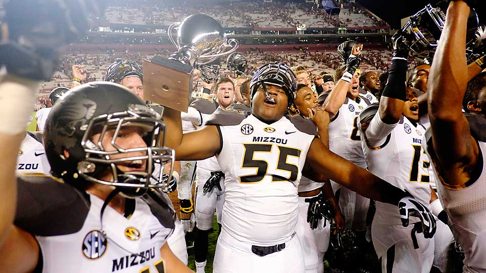 Missouri finds itself back in the top 25 in the Week 6 AP Poll after it rallied to defeat South Carolina on Saturday.