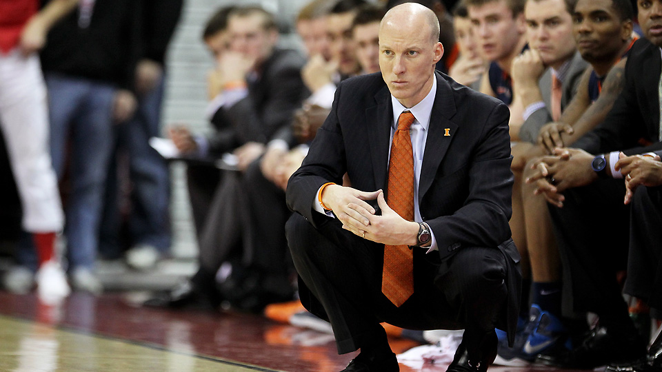 John Groce is 43-28 after two season at Illinois, with one NCAA tournament and one NIT appearance.