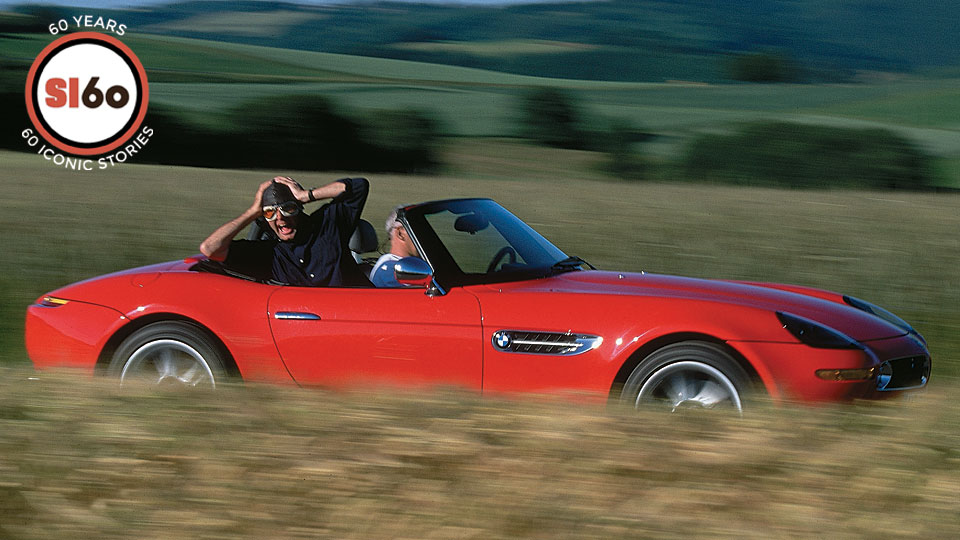 """The author took his head -- and his life -- in his hands, cruising the autobahn in a """"bloody brute"""" of a Bimmer."""