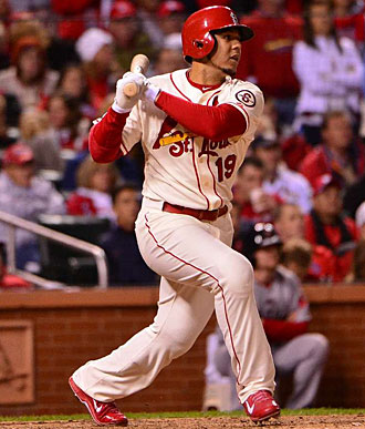 In just his fifth big league season, Jon Jay is already entering his fourth postseason with St. Louis.