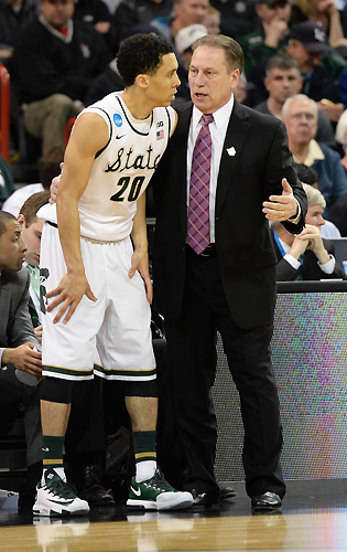 Travis Trice, Tom Izzo