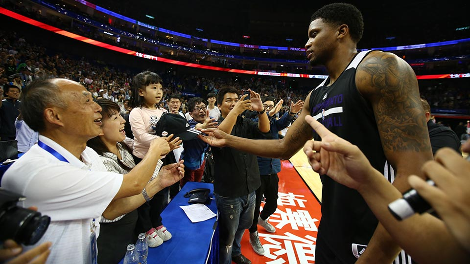 Kings' Rudy Gay discusses NBA's Global Games, China in ...