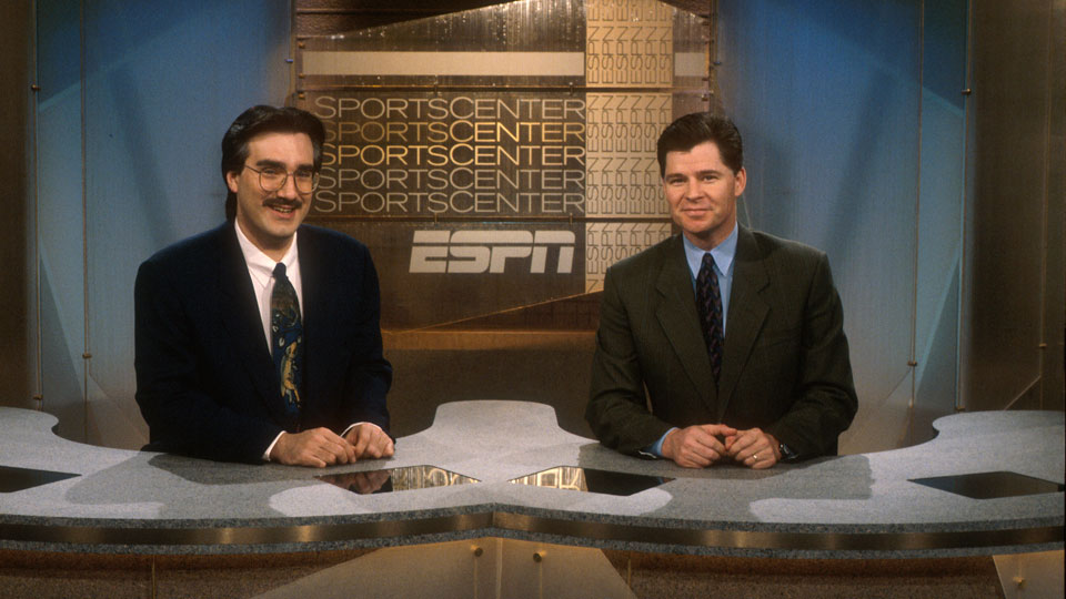 Olbermann and Patrick formed a popular 1-2 punch on SportsCenter 20 years ago.