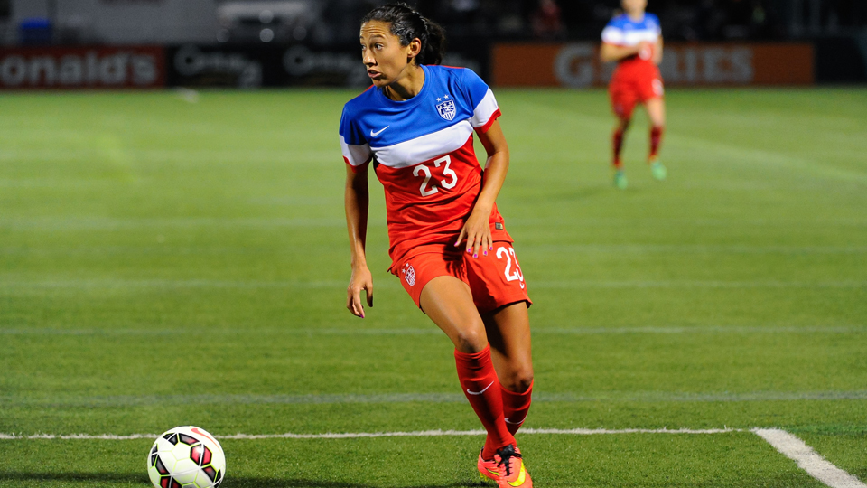 Christen Press is out to make her mark on the U.S. women's national team during World Cup qualifying.