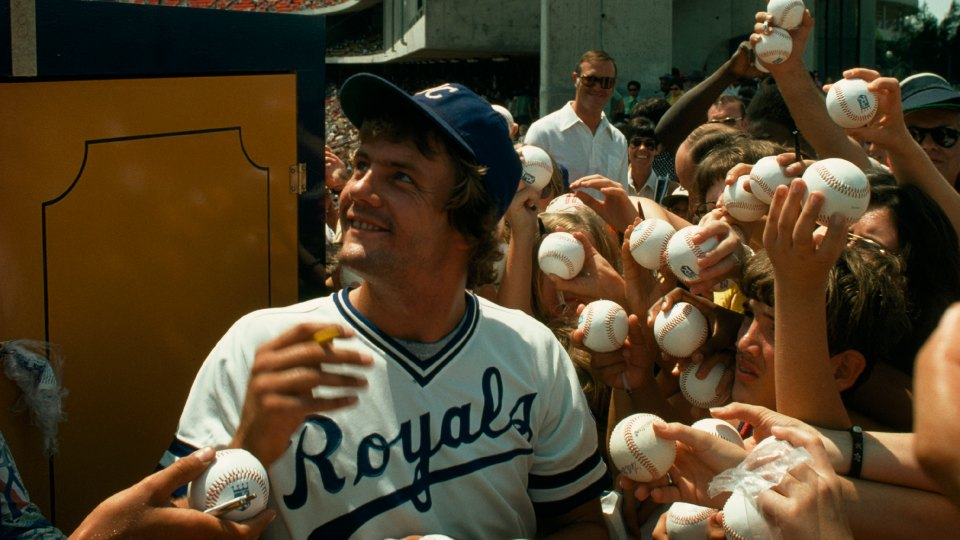 """Lorde has said """"Royals"""" was partially inspired by this photo of George Brett"""