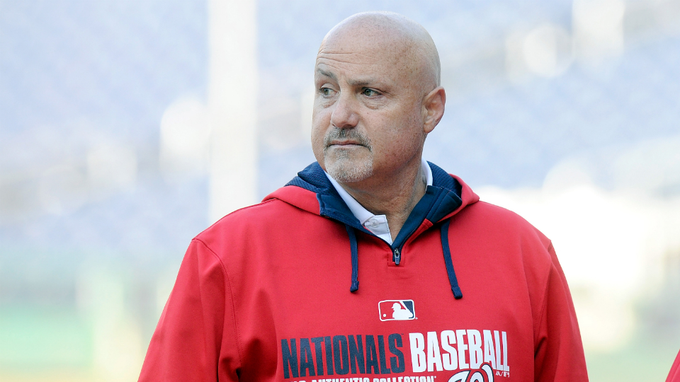 Nationals GM Mike Rizzo.