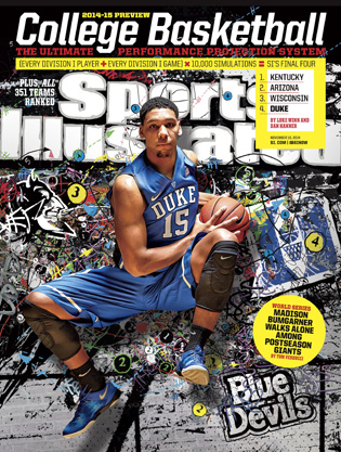 Jahlil Okafor appeared on one of SI's college basketball preview regional covers.