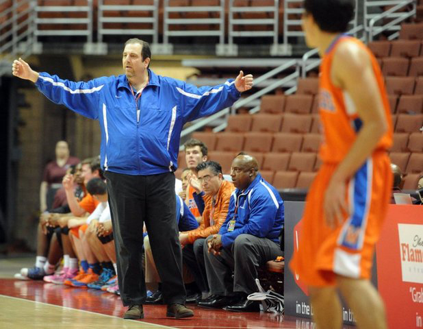 Westlake High School basketball coach Ron Bloom is suing a parent for more than $1 million.