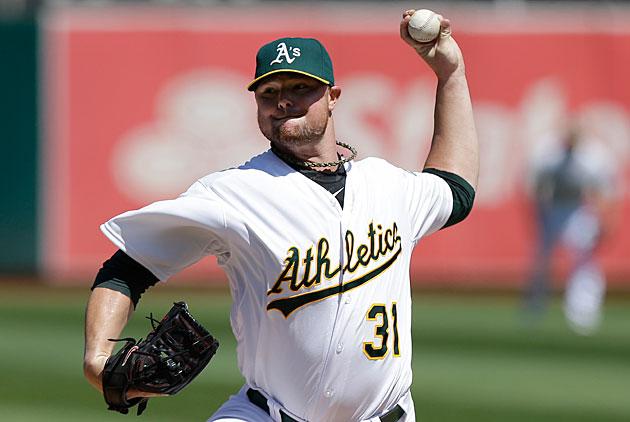 Jon Lester, Oakland Athletics