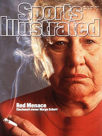 Marge Schott, Cincinnati Reds owner
