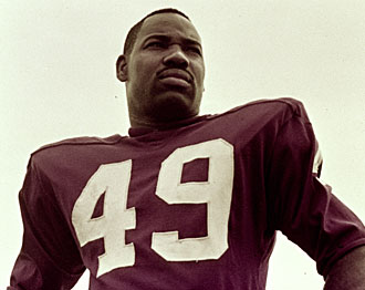 Bobby Mitchell was in the prime of his Hall of Fame career in 1963.
