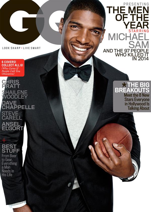 Michael SAM GQ cover