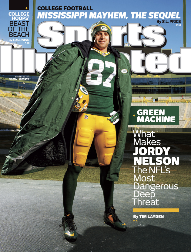 jordy nelson packers si cover
