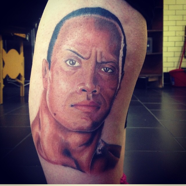Dwayne the rock johnson posts photo of fans tattoo on instagram dwayne the rock johnson posts photo of fans tattoo on instagram si altavistaventures Image collections