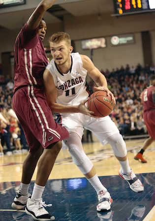 Domantas Sabonis, son of Trail Blazers legend Arvydas, could be the next in line for the Bulldogs.