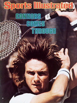 Weeks after this story was published, Connors won his third of five U.S. Open titles.