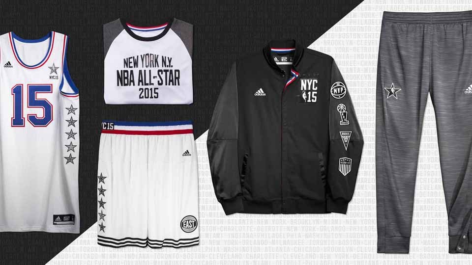 Adidas Unveils 2015 Nba All Star Jerseys Si Com