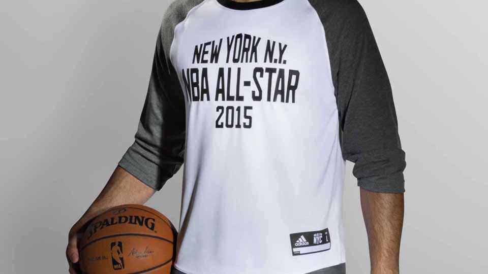 8340b7b7ca6 Adidas unveils 2015 NBA All-Star Jerseys