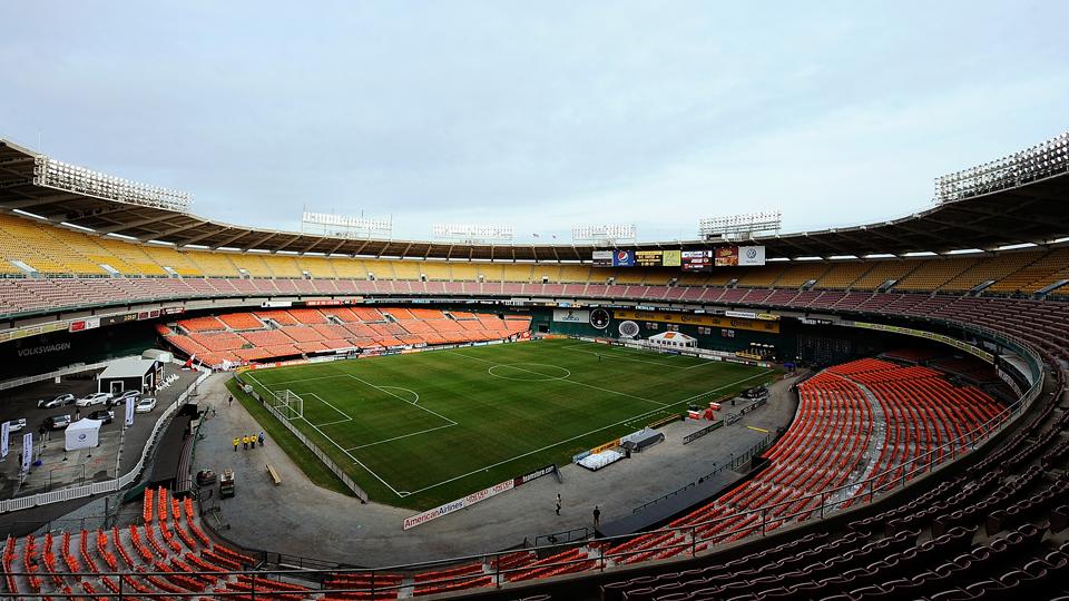 RFK Stadium is D.C. United's current home