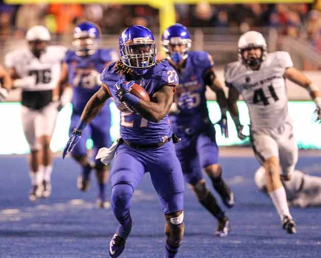 Boise State running back Jay Ajayi